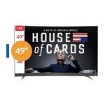 TCL Led Curvo 49P3CFS / 49 / Full HD / Smart TV